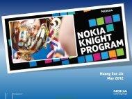 Nokia Knight Program