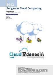 Download E-Book Pengantar Cloud Computing - CloudIndonesiA