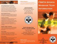 FSMTA Sports Massage Team Positions - Florida State Massage ...