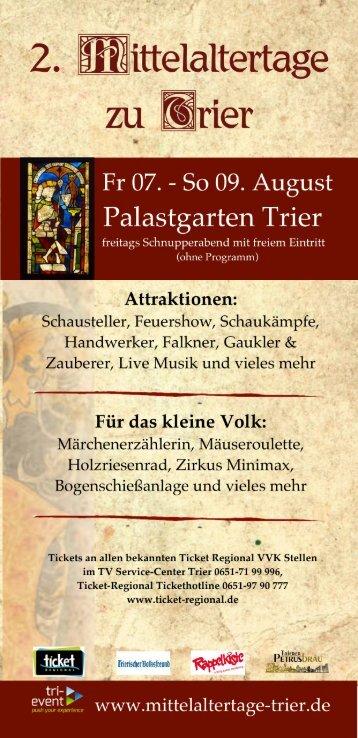 Mittelaltertage zu Trier