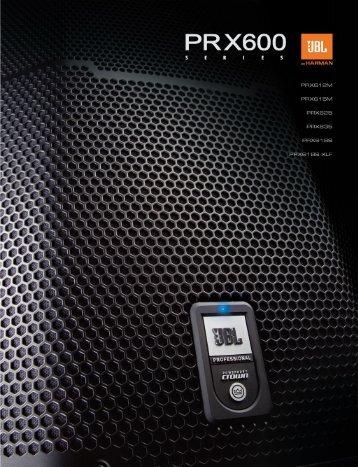 PRX600 Series Brochure - ACE