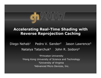talk slides - University of Virginia