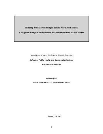 meta-assessment - Northwest Center for Public Health Practice
