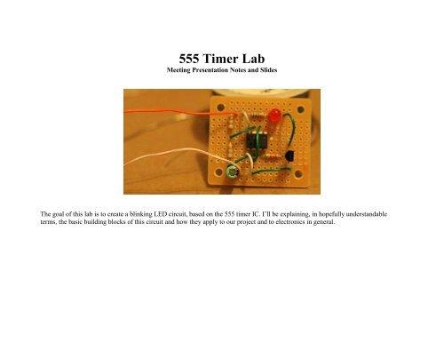 555 Timer Lab PDF - Make