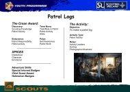 Patrol-Log-Scout-Youth-Version