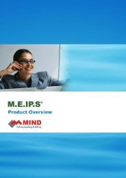 Enterprise Wide Call Accounting and Management ... - Mind Cti