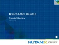 How-to-Guide: Nutanix for the VMware Branch Office Desktop PDF