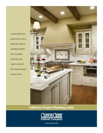 Planning Guide   Canyon Creek Cabinet Company