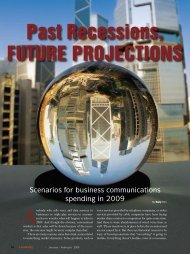 Past Recessions, FutuRe PRojections