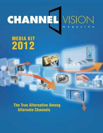 MediA kiT - ChannelVision Magazine