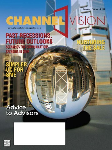 Advice to Advisors Advice to Advisors - ChannelVision Magazine