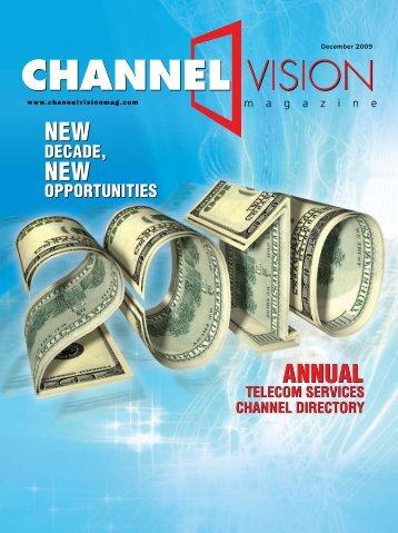 NEW - ChannelVision Magazine