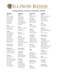 Concert Bands-fall 2012 results