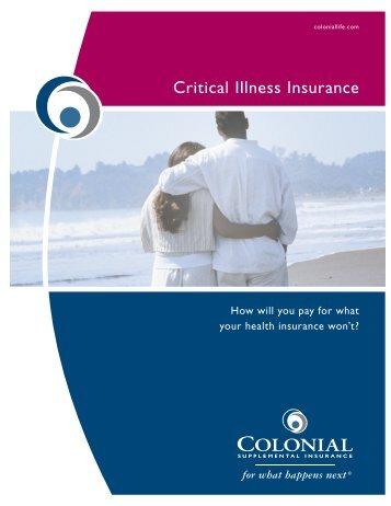 Critical Illness Insurance - Home