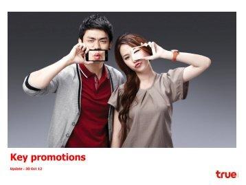 Key promotions - True Corporation Public Company Limited
