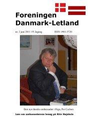 Blad nr. 2 - 2011 - Foreningen Danmark - Letland