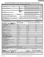 DE-36 Driver License and ID Card Request form - International Center