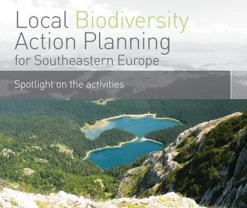 Local Biodiversity Action Planning for Southeastern Europe - ECNC