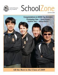 2009 summer school zone .indd - North Olmsted City Schools
