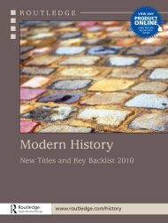 Modern History 2010 UK - Routledge