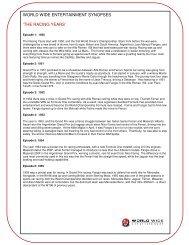the racing years - switch international