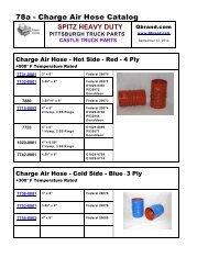 78a - Charge Air Hose Catalog - QBrand.com