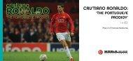 Cristiano Ronaldo: The Portuguese Prodigy DL Flyer