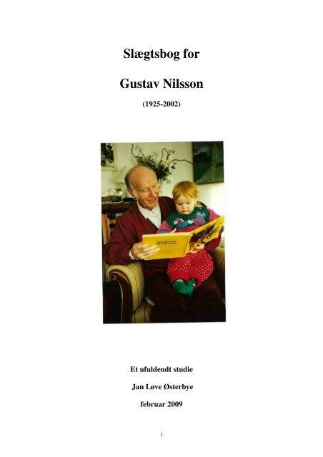 Slægtsbog for Gustav Nilsson - Jan Løve Østerbye
