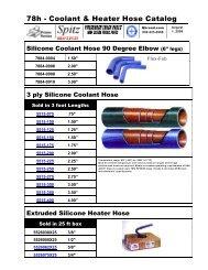 78h - Coolant & Heater Hose Catalog - QBrand.com