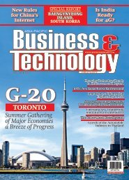 G-20 toronto - Asia-Pacific Business and Technology Report