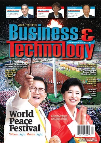 World Peace Festival - Asia-Pacific Business and Technology Report