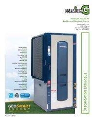 Premium G Spec Catalog - GeoSmart Energy