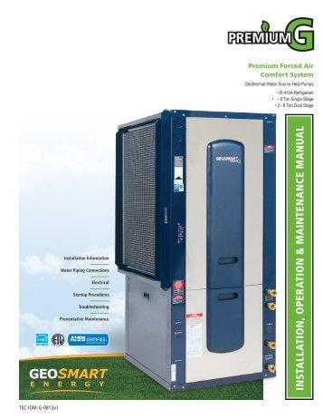 Premium G Install Manual - GeoSmart Energy