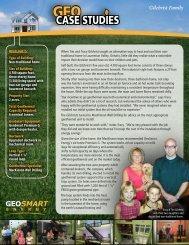 Gilchrist Family - GeoSmart Energy