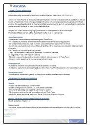 Anvisningar för Thesis Forum Anvisningar för posterns utformning ...