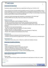 Anvisningar för Thesis Forum Anvisningar för posterns ... - Arcada