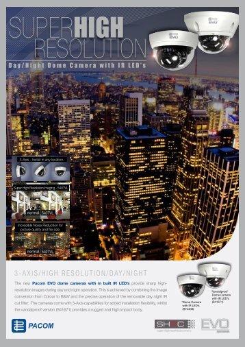 Pacom EVO IR Dome Camera.pdf - Jacksons Security
