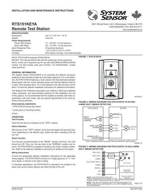 Wiring Diagram For Smoke Detector