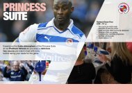 Experience the lively atmosphere of the Princess Suite ... - Reading FC