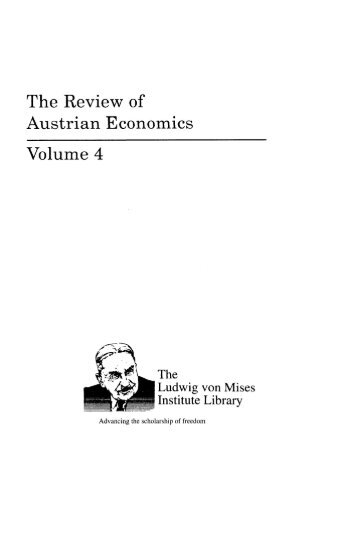 the life and contributions of ludwig von miss for the economics of austria Political economy, public policy and monetary views on political economy, public policy and monetary economics in the ludwig von mises and austria in the.