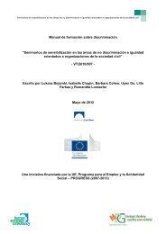 Manual de formación sobre discriminación - Human European ...