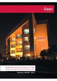 Annual Accounts - Jubilee Life Insurance