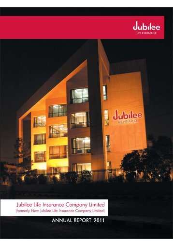 Annual Accounts - Jubilee Life Insurance