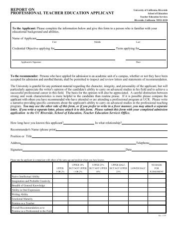 03commendation letter form letter of recommendation form graduate school of education spiritdancerdesigns Image collections