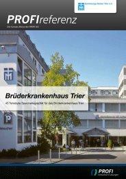 Brüderkrankenhaus Trier - PROFI Engineering Systems AG
