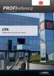 UTA - PROFI Engineering Systems AG