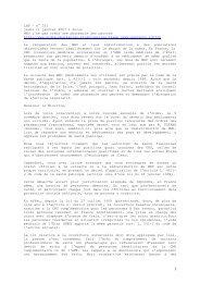 LNP - n° 331 jeudi 11 janvier 2007 1 Focus MNU : ne pas créer une ...