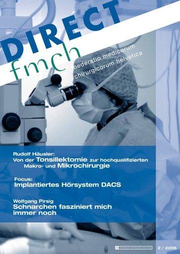 Implantiertes Hörsystem DACS Makro- und Mikrochirurgie ... - Co-Me