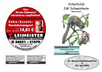 Schachclub SW Schweinheim - Schachclub Aschaffenburg ...