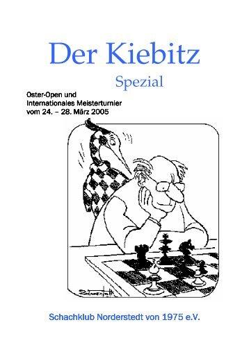 zwölfseitigen Kiebitz spezial - Schachklub Norderstedt von 1975 e.V.